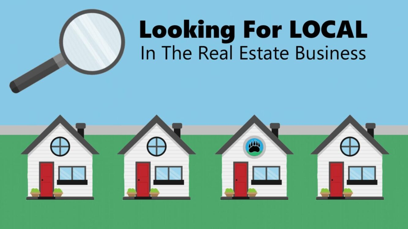 Looking For Local In The Real Estate Business